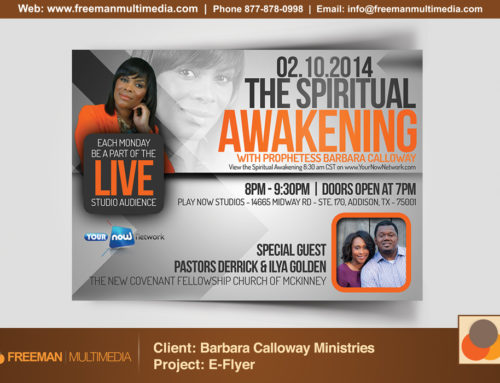 Barbara Calloway Ministries Promo Flyer