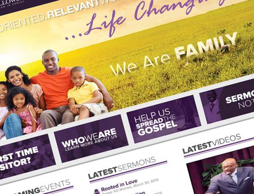 Victorious Praise Fellowship Web Redesign